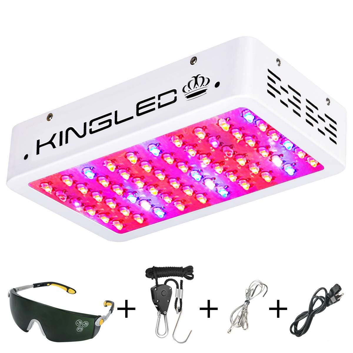 King Plus 600 Watts Led Grow Light For Marijuana Indoors Review