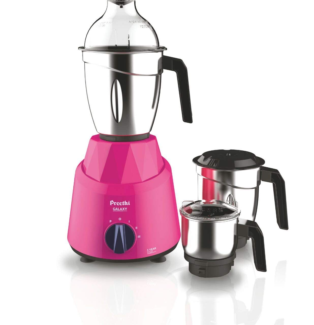 Open-Box & Refurbished (Unused) Preethi Galaxy 750W Mixer Grinder kida.in