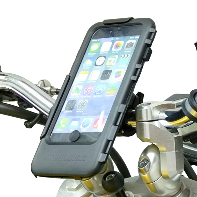 low priced c31ea 04ab8 Amazon.com: Easy Fit Waterproof Tough Case Motorcycle Bike Mount for ...