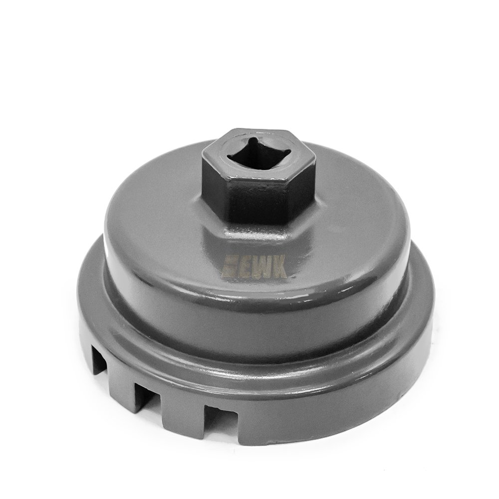 EWK 64.5mm 3/8' Oil Filter Cartridge Cap Wrench TOYOTA LEXUS SCION 2.5L to 5.7L Engines EB0014