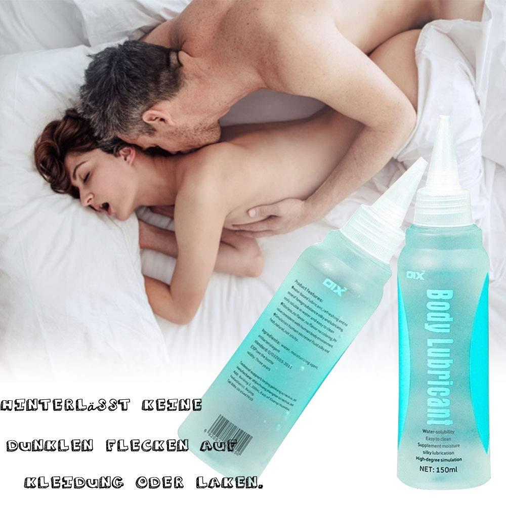 Gleitgel-Wasserbasiert Nabini Premium Gleitgel Wasserbasis sex für Frauen, Männer und Paare, Frauen Vagina analverkehr Trockenheit Gleitspielzeug aus Silikon Männlich Langzeitwirkung auf Wasserbasis mit langanhaltender Analverkehr Gleitfähi