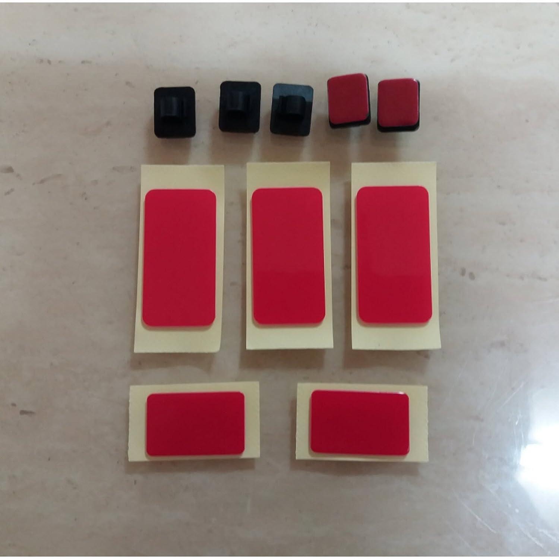 Blackvueブラケットマウントテープ5点+ケーブルクリップ5点for dr400g dr380 dr3500 B079HTT15Q