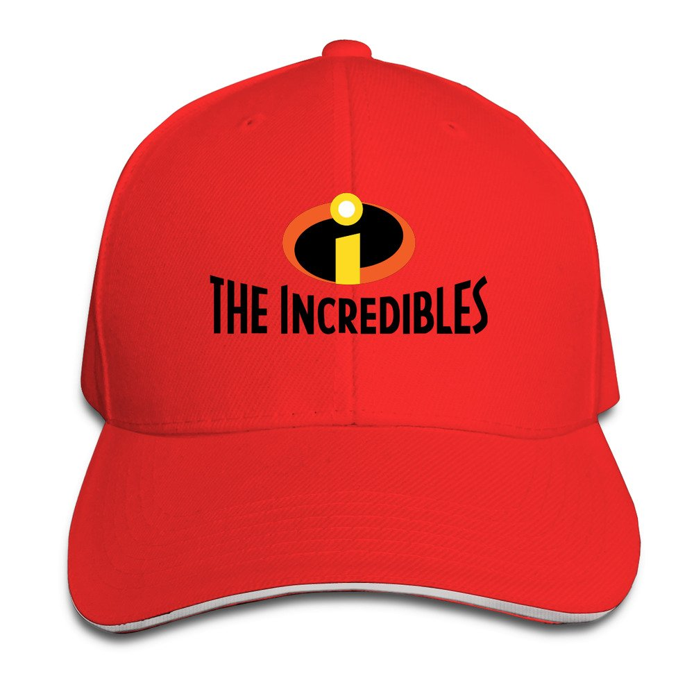 The Incredibles Snapback Sandwich Peak Baseball Cap Hat  Amazon.co.uk   Clothing d9284912798