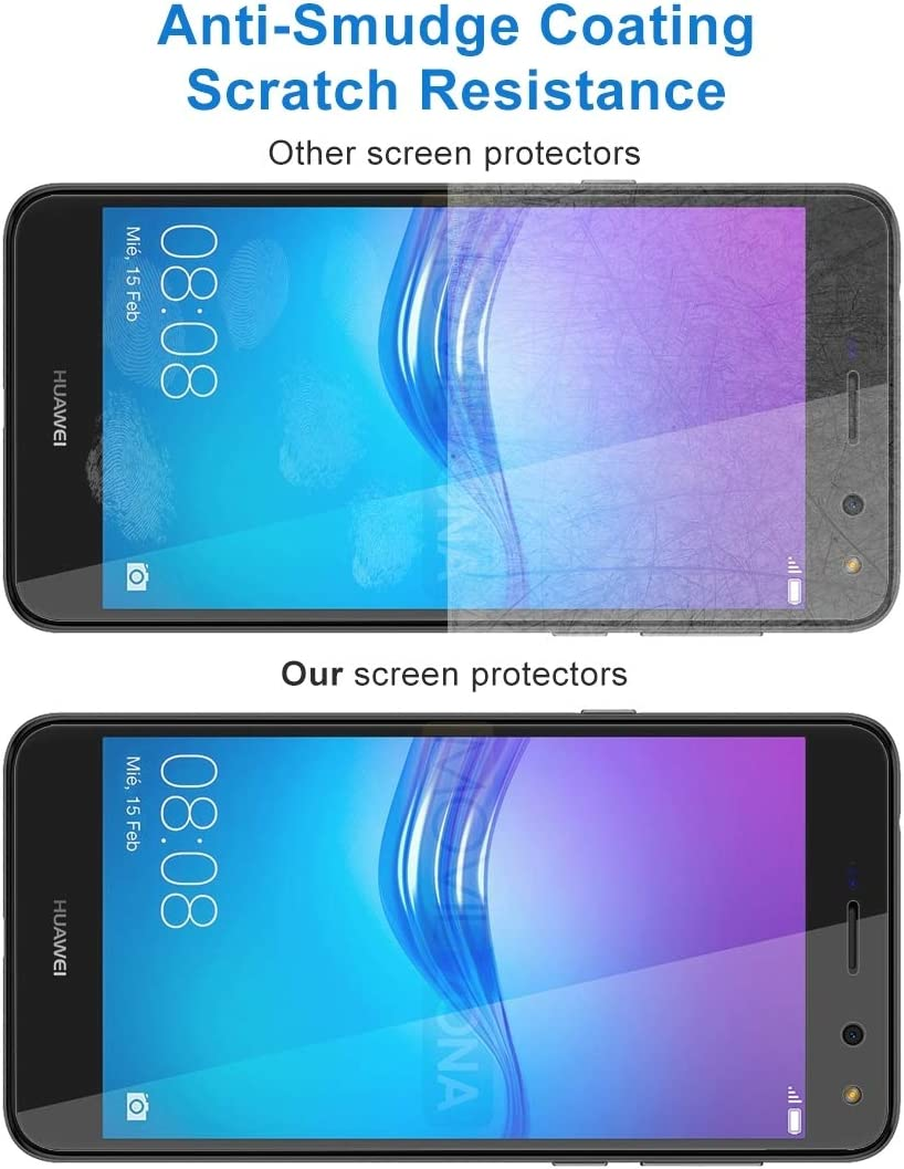2017 0.26mm 9H Surface Hardness 2.5D Explosion-Proof Tempered Glass Non-Full Screen Film ZHANGYUNSHENG 50 PCS for Huawei Y6 No Retail Package zys