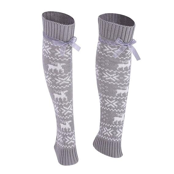 ishine calcetines mujer divertidos calcetines ciclismo En los calcetines de tubo con 2 colores: Amazon.es: Ropa y accesorios