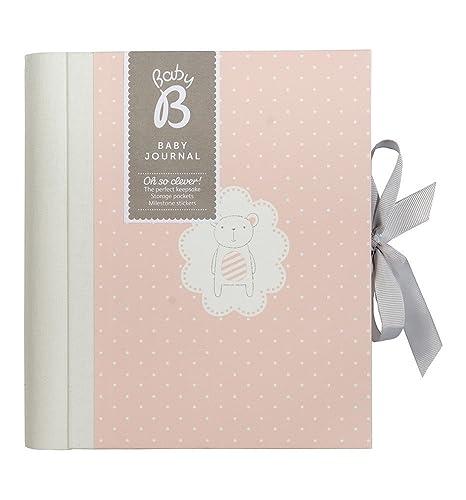 Busy B Baby B - Cuaderno de recuerdos para bebé (contenido en inglés, color