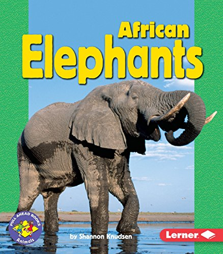 African Elephants (Pull Ahead Books _ Animals)