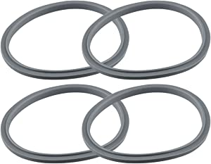 4 Pack Gray Gaskets Replacement Part for NutriBullet 600W 900W NB-101B NB-101S NB-201 Blenders
