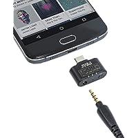 96 KHz 24 Bit DAC Type-C Audio Adapter to 3.5mm Headphone Amplifier 3 Level EQ Support