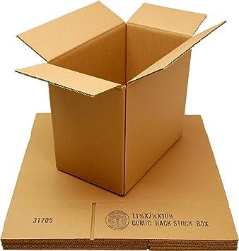 (5) pequeño cartón cajas de almacenamiento Comic backstock - # cxbcbs: Amazon.es: Oficina y papelería