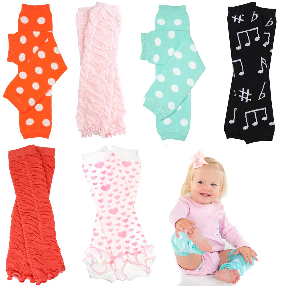 6 Pack of Girls juDanzy Leg Warmers by juDanzy