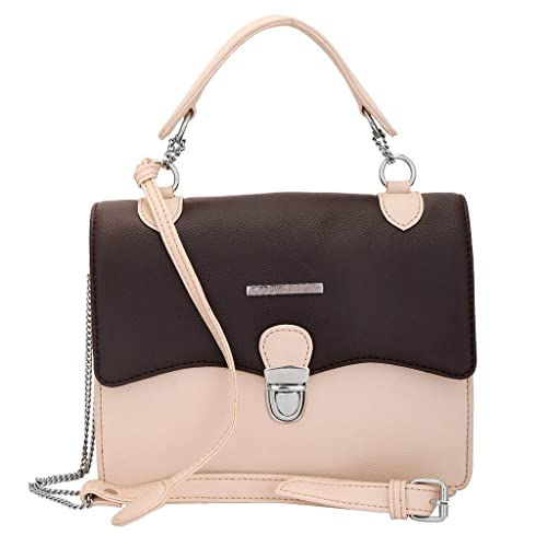 Lapis O Lupo PU Women s Sling Bag (Brown ba4590fea95b0