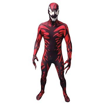 Morphsuits Carnage Disfraz de Disfraz de Adulto - Tamaño X-Grande - 510-61 (176cm-185cm)