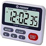 Timer da cucina digitale orologio, Xrexs simultanea Timing timer countdown fino tasca con sveglia, ampio display a LED, memoria, funzione cronometro, magnetico della batteria (inclusa)