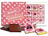 DA CHOCOLATE Candy Souvenir FEMALE WEAKNESSES Chocolate Gift Set For Your Girlfriend 5x5in 1 box (Prime)