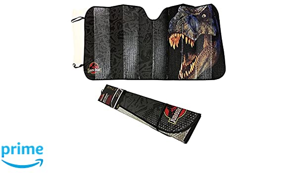 Plasticolor Jurassic Park World Logo Accordion Sunshade for Your Auto Car  Truck SUV Vehicle - Universal Fit Dinosaur Raptor Sunshade  Amazon.com.au   ... 09b32d6d3f0
