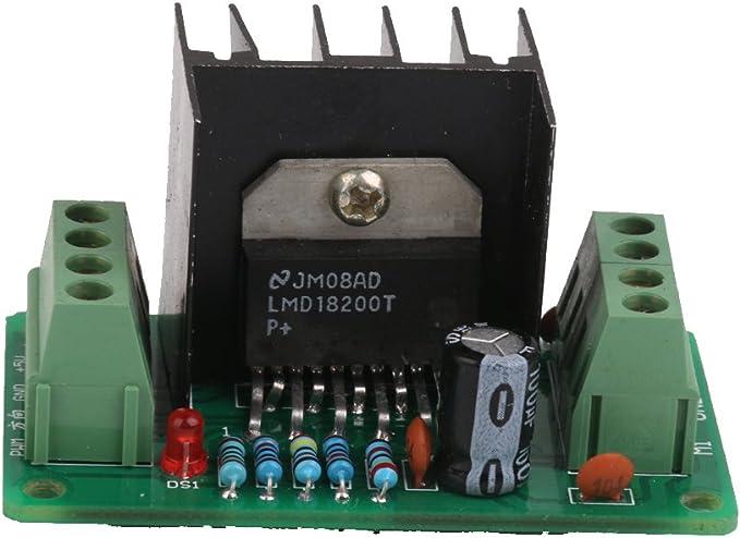 LMD18200T DC Módulo de Controlador de Motor Conductor Motor Drive: Amazon.es: Electrónica