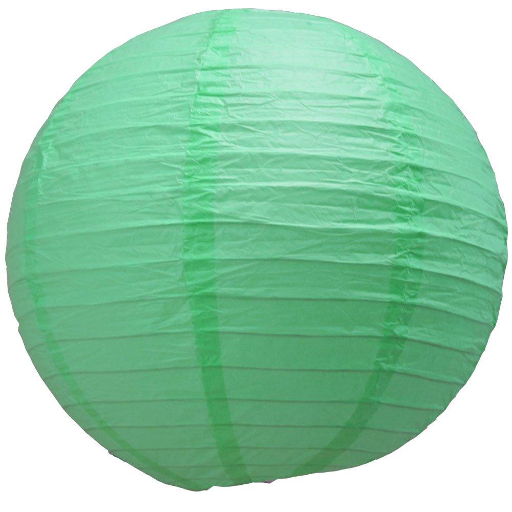 球体ペーパーランタン うね織り模様 ぶらさげるのに(電球は別売り) 10 Inch 10EVP-RE 1 B00T5E57CI 10 Inch|Cool Mint Green Cool Mint Green 10 Inch