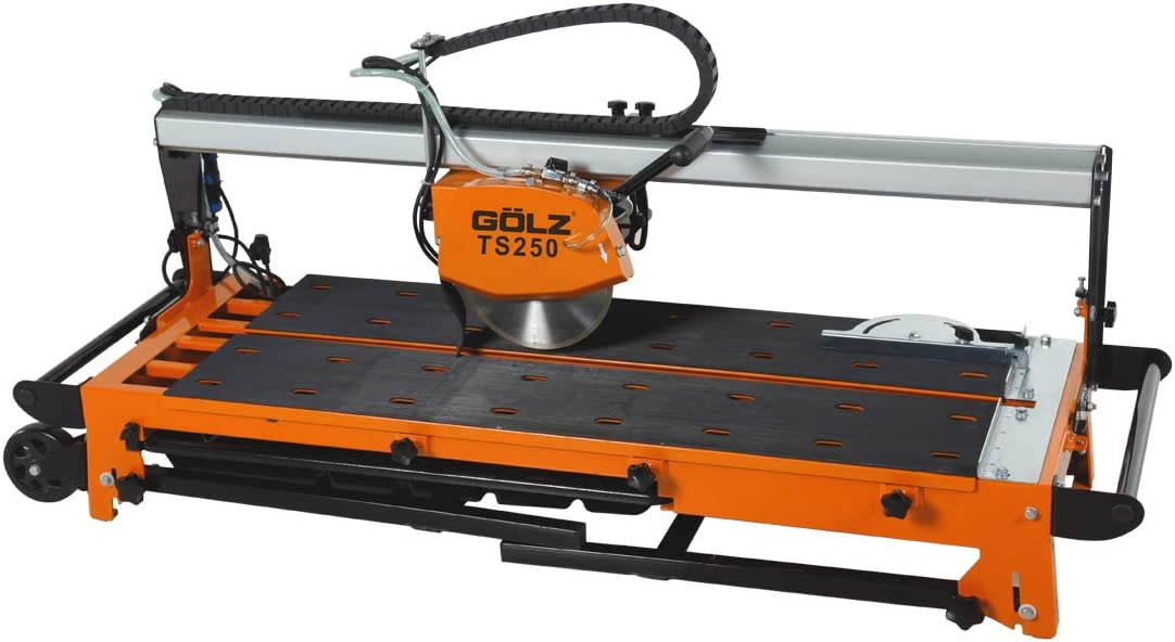 GOLZ TS200 Professional tile cutting machines with 2 free blades 8