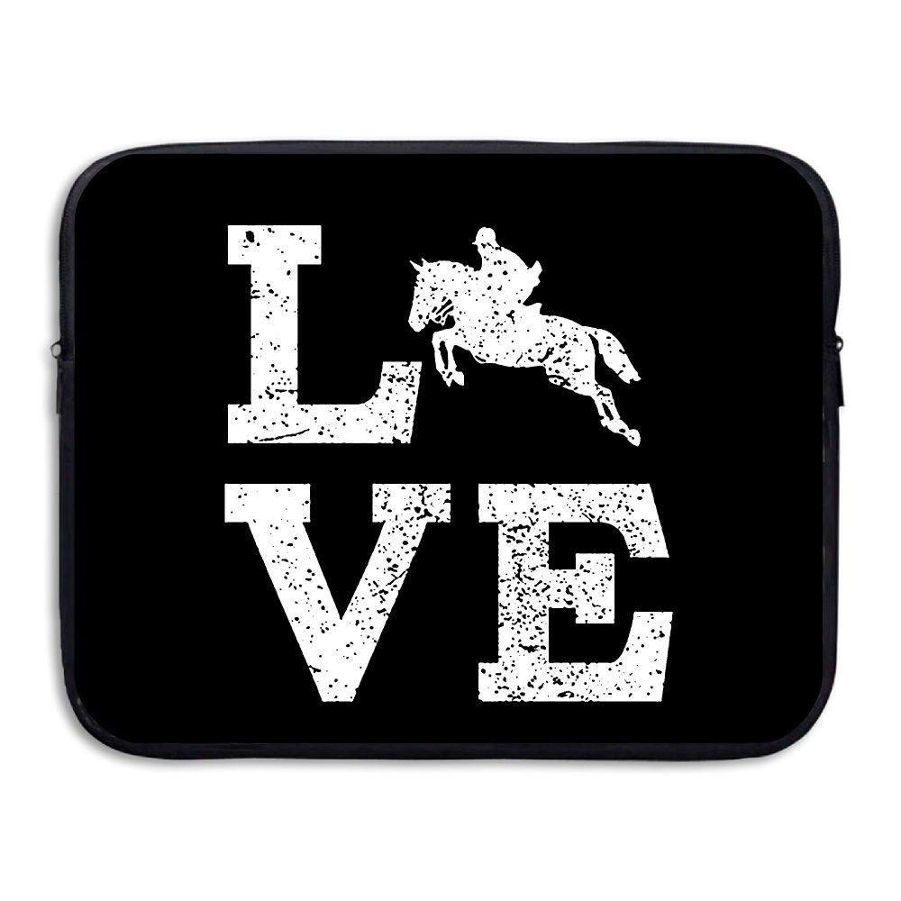 Summer Moon Fire Love Horse Briefcase Handbag Case Cover For 13-15 Inch Laptop, Notebook, MacBook Air/Pro