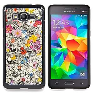 BullDog Case - FOR Samsung Galaxy On7 G6000 - Hand Shape Pattern Teal Deep - Dise???¡¯???¡Ào para el caso de la cubierta de pl???¡¯????stico Chicas