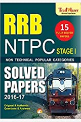RRB NTPC PREVIOUS YEARS SOLVED PAPERS (STAGE-1): Railway Recruitment board Kindle Edition