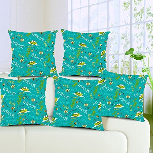 Aart Quoted Designer Cushion Cover (Set of 5) 16*16