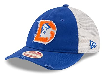 size 40 4316e a594f Image Unavailable. Image not available for. Color  New Era Denver Broncos  NFL 9Twenty Historic Frayed Twill Mesh Back Hat
