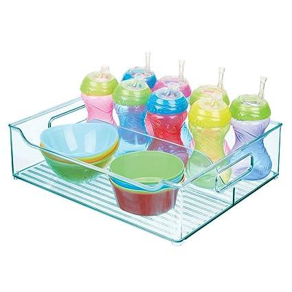 mDesign Cesta organizadora para Cuarto Infantil - Caja para ...