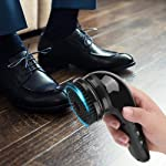 ZRB USB Rechargeable Electric Shoe Shine Polisher Portable Handheld Automatic Shoe