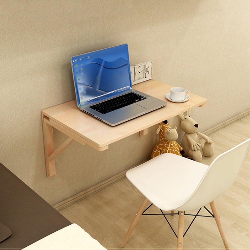 折り畳み式スタディデスク壁掛けソリッドウッドダイニングテーブルサイドテーブル壁掛けコンピュータデスクサイズオプション ( サイズ さいず : 70*40cm ) B079FK4VZB70*40cm