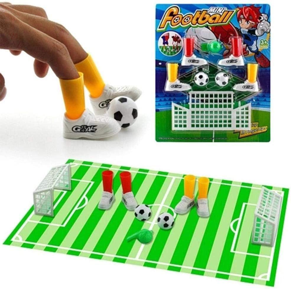Juego de mesa de fútbol para niños, adultos, alivio del estrés, juego creativo de fútbol, juego de fútbol con dos goles divertidos para fiestas familiares, juego de fútbol: Amazon.es: Hogar