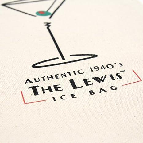 Amazon.com: Lewis Bolsa de hielo bolsa de lona retro estilo ...