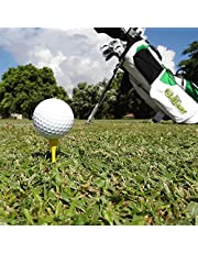 """GelTees Biodegradable Gelatin Golf Tees ECO Friendly 2-3/4"""" Yellow 50 Count"""