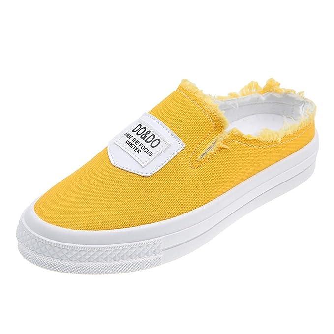 Zapatos Planos,ZARLLE Zapatos Blancos pequeños Estudiante ...