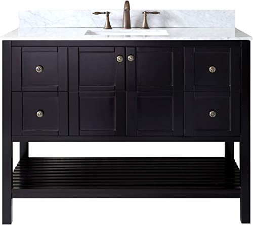 Virtu USA ES-30048-WMSQ-ES-NM Winterfell Bathroom Vanity
