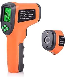 Amazon com: Digital Photo Laser Tachometer Non Contact Tach RPM