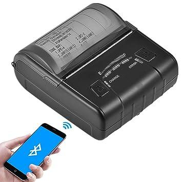 Yosoo Impresora térmica Bluetooth, USB Mini portátil ...