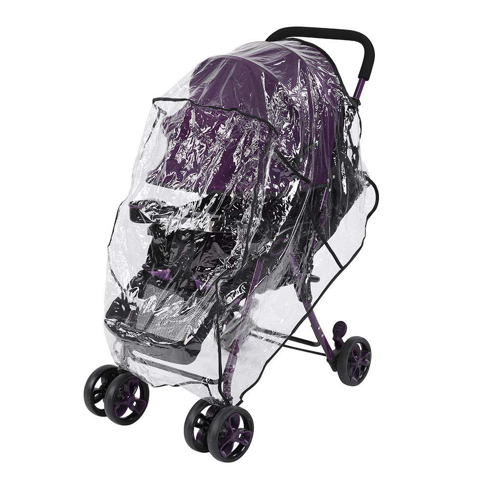 Kinderwagen Regenschutz Winddicht Kinderwagen-Regenschutz Transparenter Kinderwagen-Schutz Regenschutz