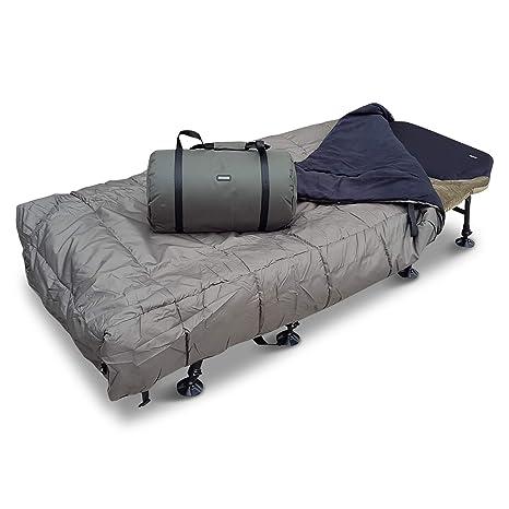 Abode airtexx transpirable térmico hamaca manta de forro polar de pesca de carpa cama cubierta