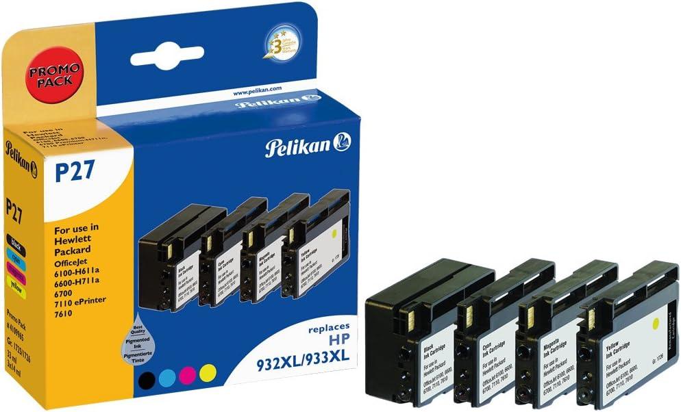 Pelikan 4109965 - Cartucho de tinta HP OfficeJet 6700 - HP 932 ...