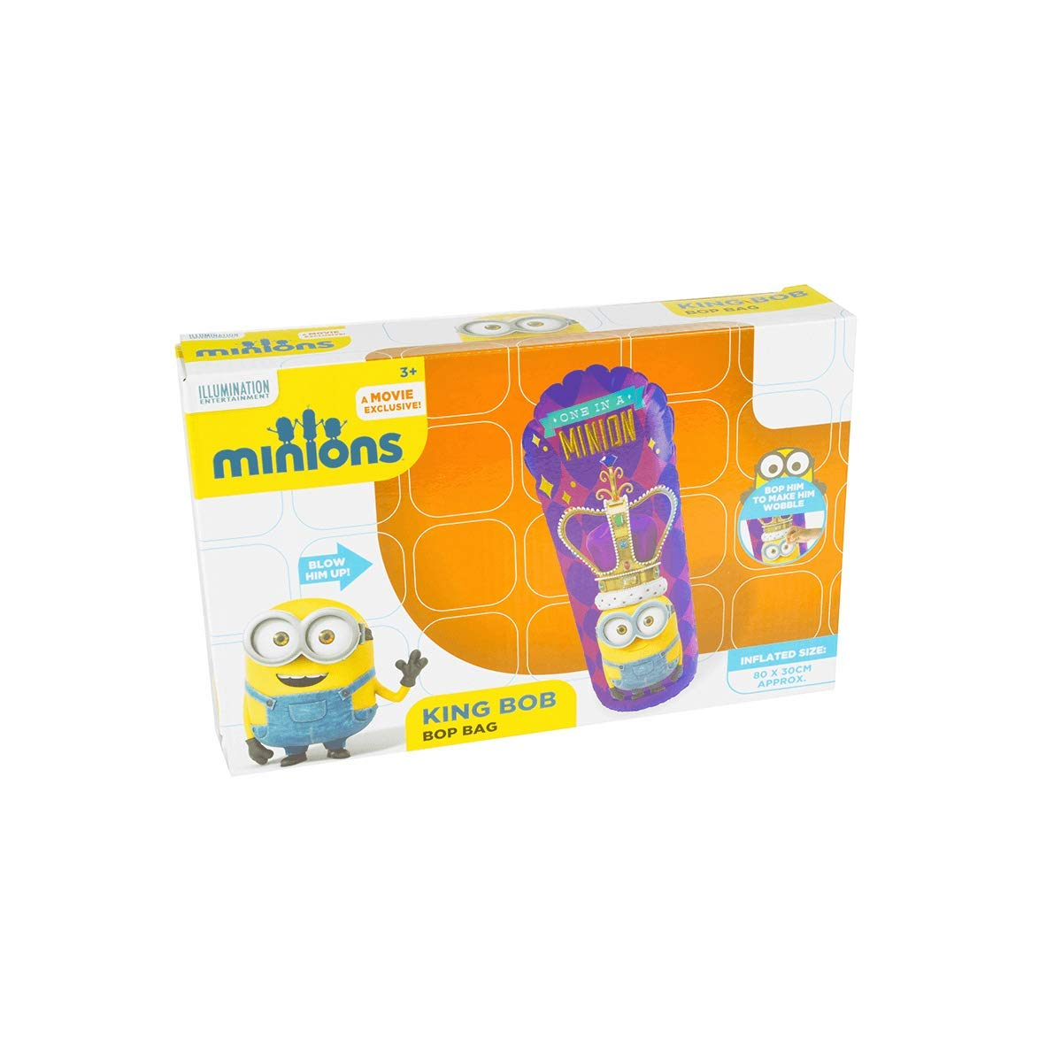 Hinchable tentetieso Minions Bop Bag 80cm Surtido: Amazon.es ...