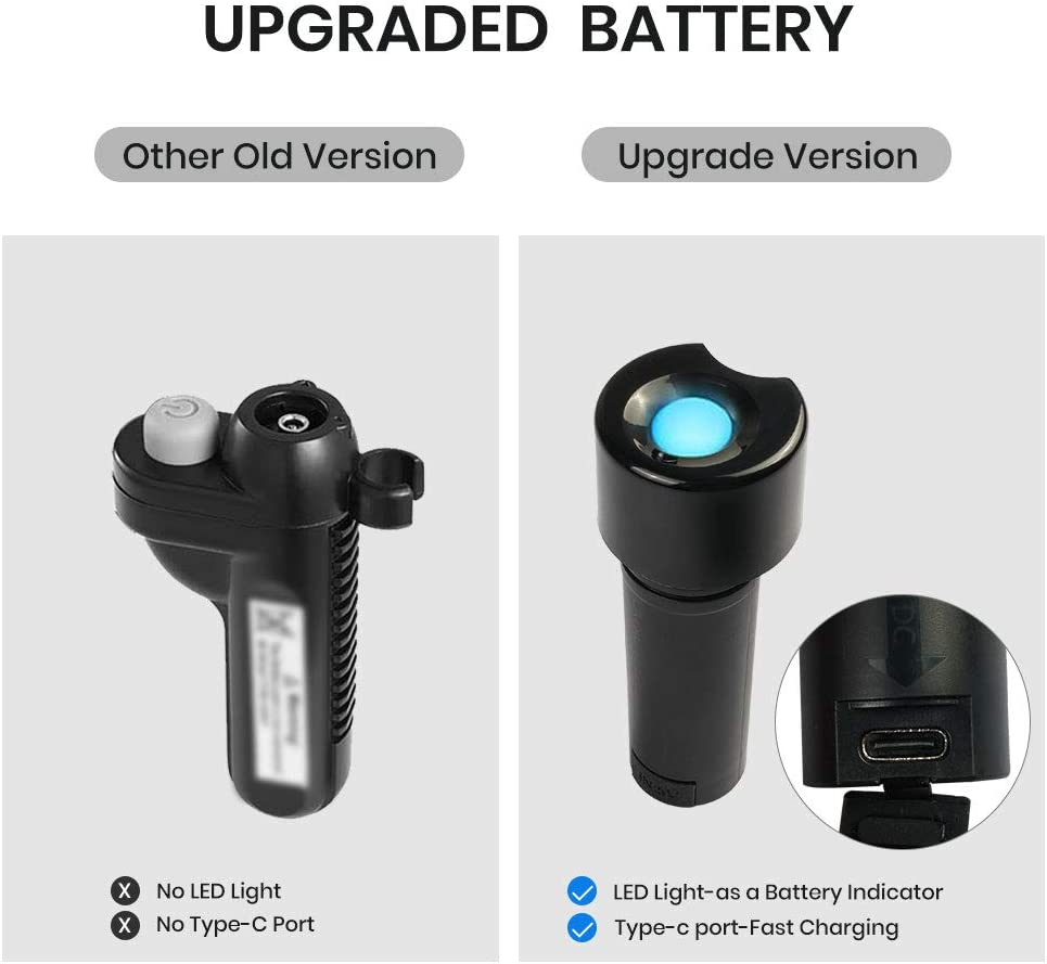 Portable Outdoor Shower,Camping Shower Pump,Electric Rechargeable Portable Shower,USB C charge,IPX8,Stainless Shoewr Head,For Camping,Hiking,Pet shower,Traveling
