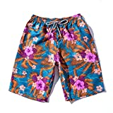 ViewHuge Mens Beach Shorts, Couple Quick Dry Trunks Volley Shorts Water Shorts With Pockets