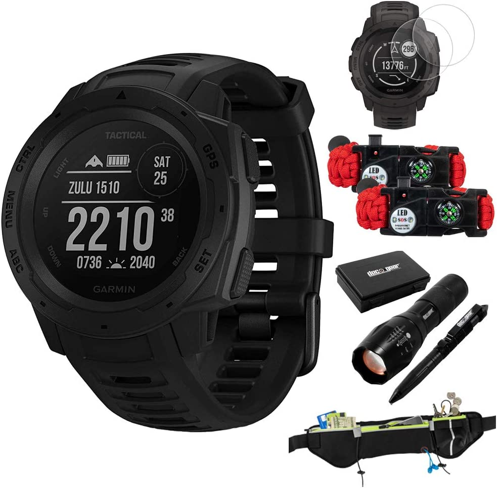 Amazon.com: Garmin Instinct Tactical Outdoor GPS Smart Watch ...