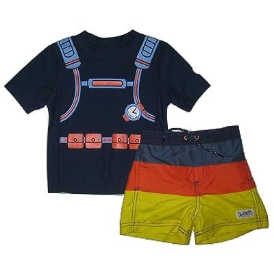 dc371f2775558 Carter's Scuba Diver Rash Guard & Swim Trunks Set, 24 Months