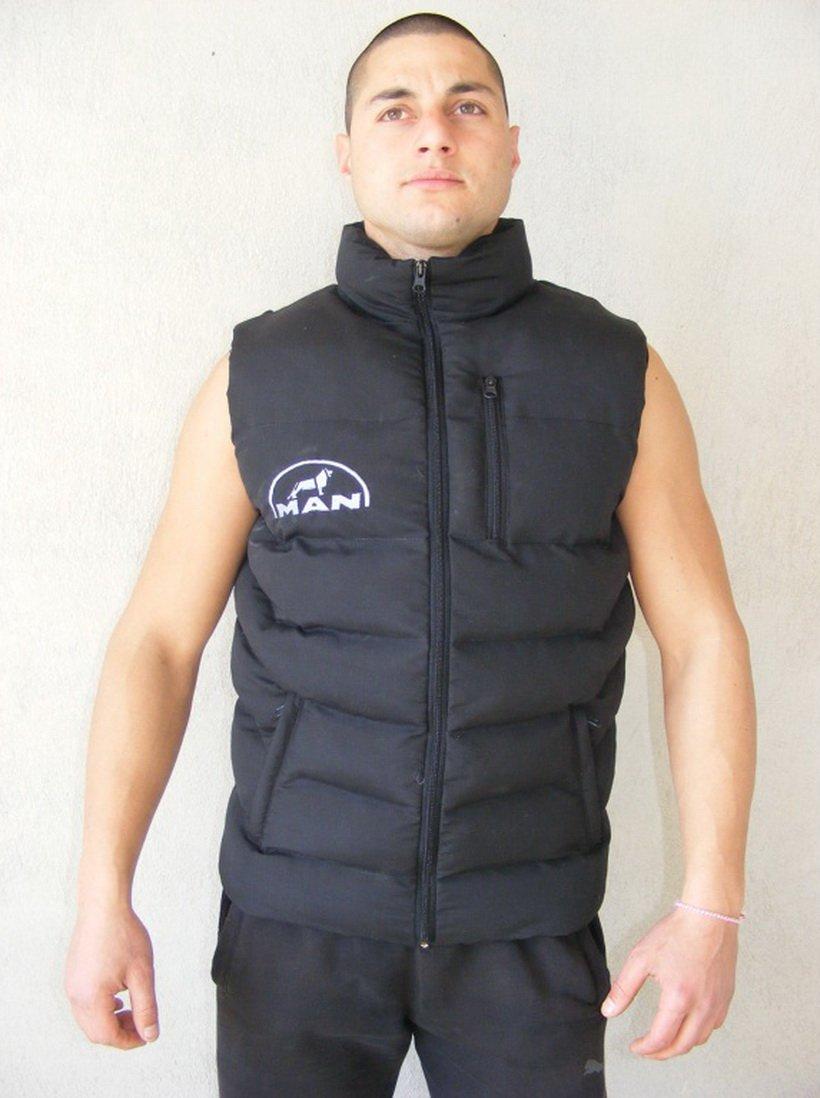 Sin mangas para hombre logotipo bordado en la parte frontal y posterior tamañ o m –  XXXL Other