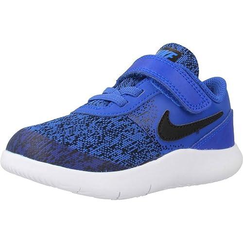Zapatillas para niño, Color Azul, Marca NIKE, Modelo Zapatillas para Niño NIKE NIKE Flex Contact (TDV) Azul: Amazon.es: Zapatos y complementos