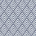 NuWallpaper NU1701 Arrowhead Deep Blue Peel & Stick Wallpaper