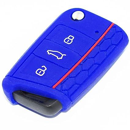 Carcasa para llave, color azul oscuro: Amazon.es: Coche y moto